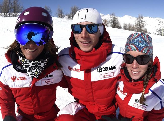 Escuela de esquí  francès- Villeneuve