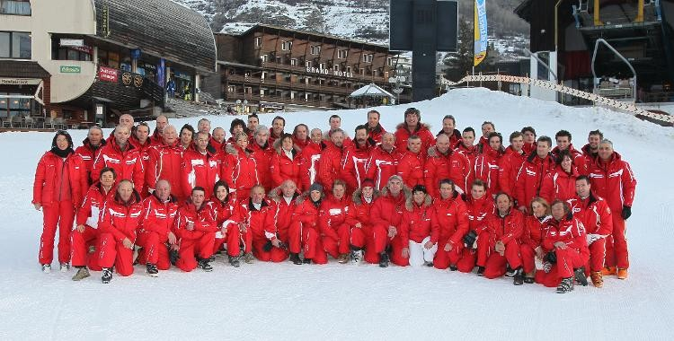 French ski school - Chantemerle