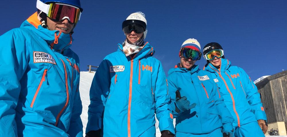 Generation snow ski school