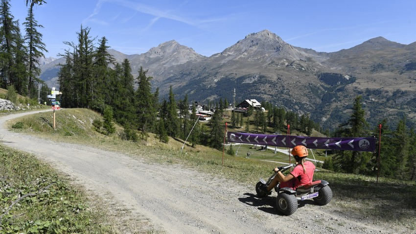 Mountain Kart and Downhill Scooters