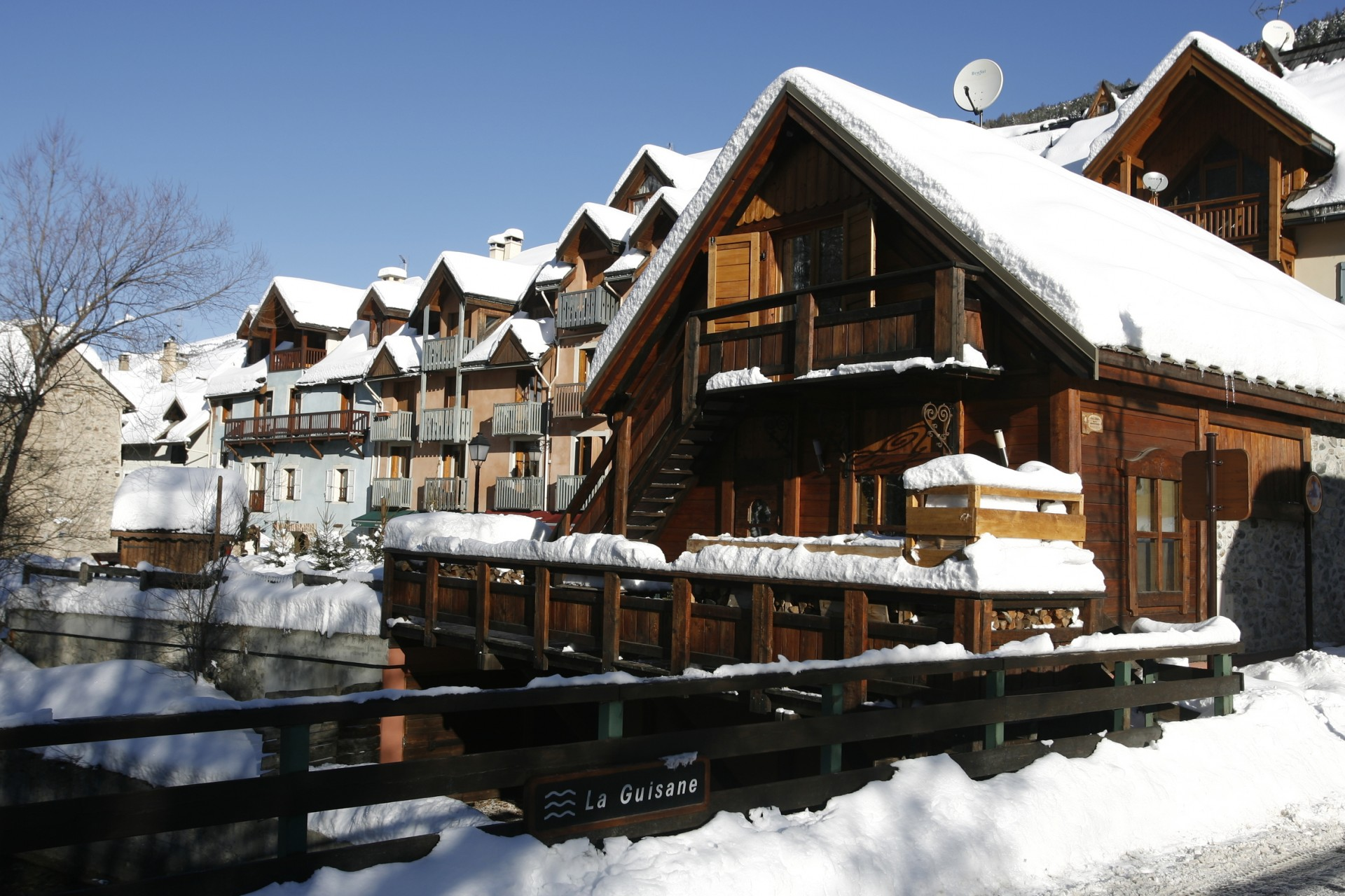 Self-catering accommodation Serre Chevalier Villeneuve