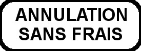 Annulation sans frais - Covid19