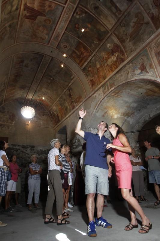 visite commentées des fresques de saint Martin